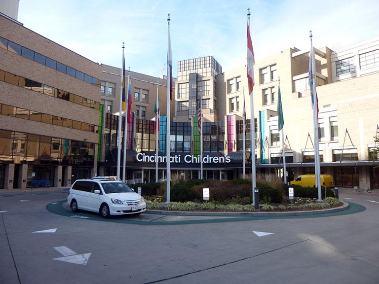 留学中のシンシナティ小児病院医療センター